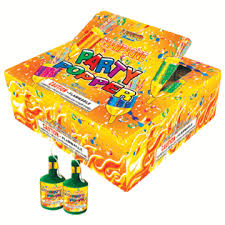 party poppers chagne party poppers of 20 boxes springfield fireworks