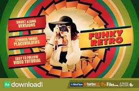 videohive funky retro free download free after effects
