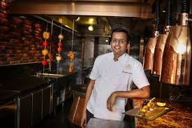 chef en cuisine chef bharath bhat in punjab grill bkk kitchen jpg