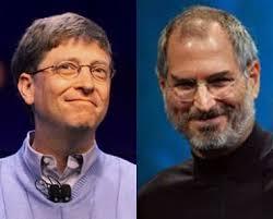 Bill Gates And Steve Jobs Meme - steve jobs and bill gates funny meme