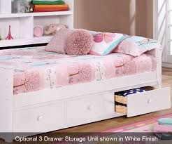 White Bookcase Daybed Full Size Bookcase Captains Daybed White Allen House Kids