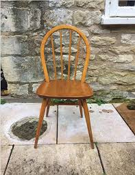 Ercol Dining Chair Ercol Dining Chairs X 4