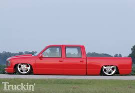 lowered cars low gmc red truck lowered cars aiii jpg