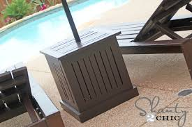 Patio Table With Umbrella Hole Gorgeous Outdoor Side Table With Umbrella Hole With Best 25 Patio