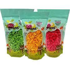 green paper easter grass paper easter basket grass eco grass 3 bags 1 25 oz