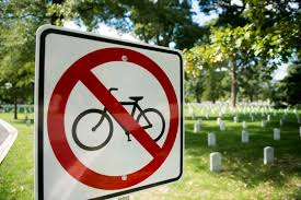 Arlington Cemetery Map Bicycle Use Policy