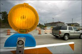 bill would dim the lights on construction barriers the daily
