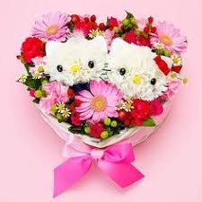 types of flower arrangements can choose from six types of animal cute animals made of flowers