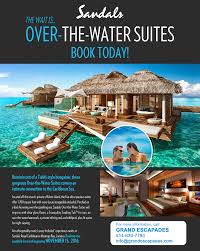 spectacular over the water bungalows u2013 grand escapades