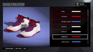 Chicagos Flag Nba 2k16 Shoe Tutorial Jordan 10 Chicago Flag Youtube