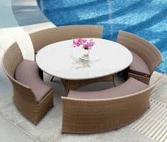 Modern Outdoor Patio by Bathroom Outdoor Wicker Lounge Sofa With Cushions And Unique