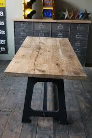 table cuisine bois brut grande table en bois ancienne grande table basse plateau ancienne