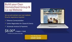 smart class online register homeschool marketing site