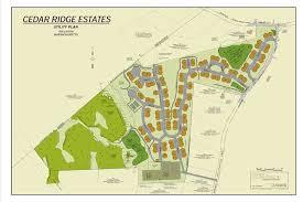 green plans green view realty cedar ridge estates site plans