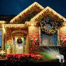 outdoor elf light laser projector christmas star shower outdoor christmas projection lights laser