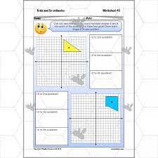 grids and co ordinates coordinates ks2 complete series