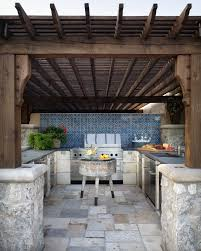 Backyard Kitchen Design Ideas Excellent Best 25 Small Outdoor Kitchens Ideas On Pinterest