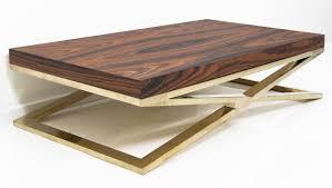 Brass Coffee Table Www Roomservicestore Rosewood Brass X Leg Coffee Table