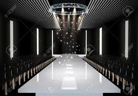 Fashion Show Floor Plan by 3d Illustration Of Fashion Empty Runway Before A Fashion Show