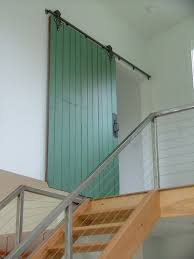 Interior Barn Doors Diy Interior Barn Doors Diy Staircase Contemporary With Green Barn