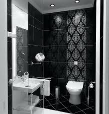 black white bathroom tiles ideas small black and white tile bathroom view in gallery trendy black and