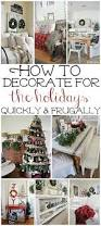 decorate home for christmas how to frugally u0026 quickly decorate for christmas liz marie blog