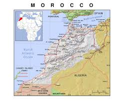 Map Of Spain And Morocco by Maps Of Morocco Detailed Map Of Morocco In English Tourist Map