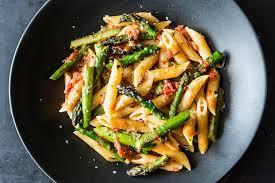 pasta recipes craig claiborne s pasta con asparagi recipe on food52