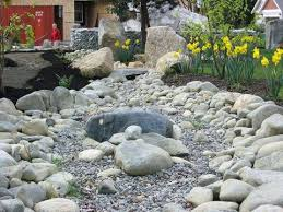 River Rock Garden Bed How To Landscape With River Rock Landscaping With River Rock