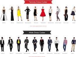defining dress codes u2013 what to wear for every occasion wexler events