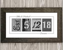best anniversary gifts for 1st anniversary gift etsy