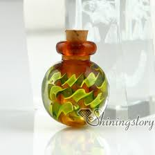 necklace urns for ashes small glass bottles for pendant necklacescremation urns jewelry
