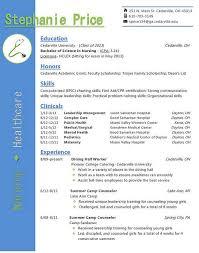 best resume format for nurses resume exle nursing resume exles