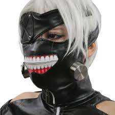 best halloween masks for sale tokyo ghoul mask kaneki ken cosplay mask for sale the best cosplay