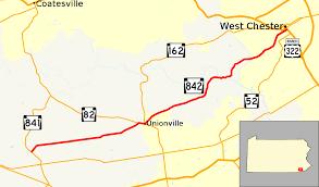 Chester Pa Map Pennsylvania Route 842 Wikipedia