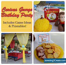 curious george party curious george birthday party jonesing2create