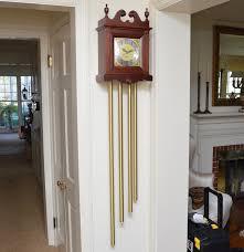 Ridgeway Grandmother Clock Grandfather Wall Clock By Nutone Ebth