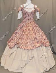 Ball Gown Halloween Costumes Civil War Victorian Ball Gown Dress Civil War Reenactment
