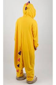 Kigurumi Halloween Costume Yellow Dinosaur Kigurumi Halloween Onesie 4kigurumi