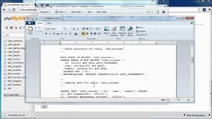 Mysql Copy Table From One Database To Another How To Copy And Rename Tables Within Mysql Youtube