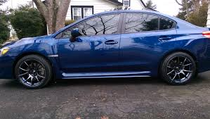 2015 wrx sti aftermarket wheel 2015 wrx sti aftermarket wheel and tire fitment page 95 nasioc