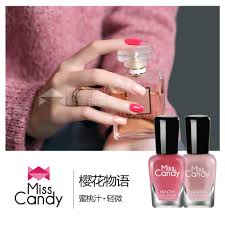 usd 38 57 miss candy colored nail polish set toxic to health can