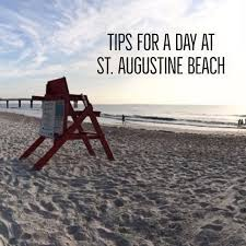 tips for a day at st augustine beach st augustine fl