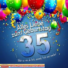 geburtstagsspr che 35 buntes happy birthday design als postkarte happy birthday