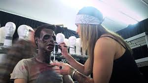 halloween horror nights job application walking dead makeup time lapse halloween horror nights youtube