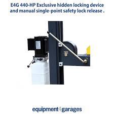 e4g 440 hp parking lift 4 post lift vehicle storage ramp