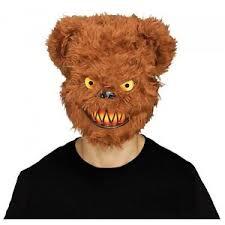 Halloween Costumes Teddy Bear Scary Teddy Bear Mask Evil Psycho Halloween Costume Fancy