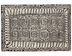 Black And White Rugs Black On White Collection Estambul Rug Hivemodern Com