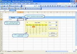 format date in excel 2007 what is excel date picker pop up excel calendar