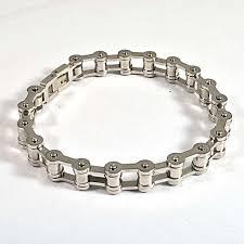 black stainless steel chain bracelet images Wholesale men 39 s motor bike chain bracelet punk silver gold black jpg